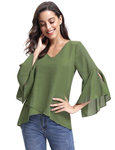 Oversize Victorian Sleeve Short Top