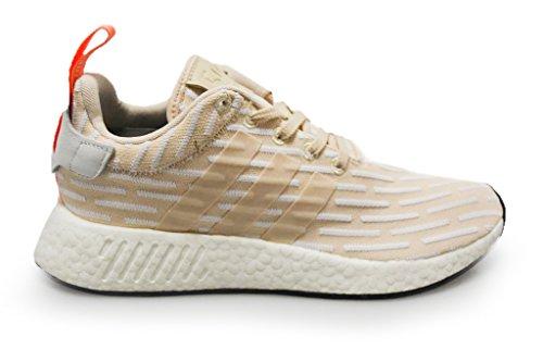 adidas Damen–NMD R2–Pink Weiß–ba7260