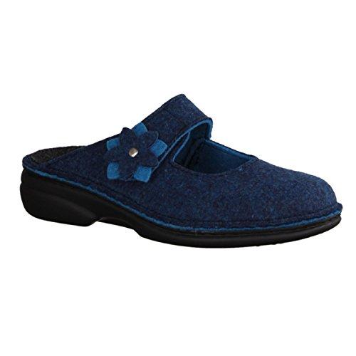 Finn ComfortArlberg - Zuecos Mujer Azul - azul