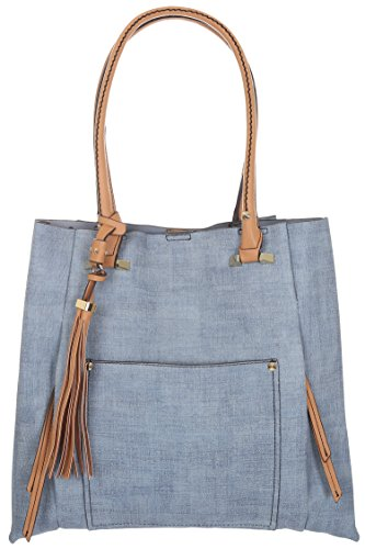 sondra-roberts-ladies-linen-embossed-tote-blue-one-size