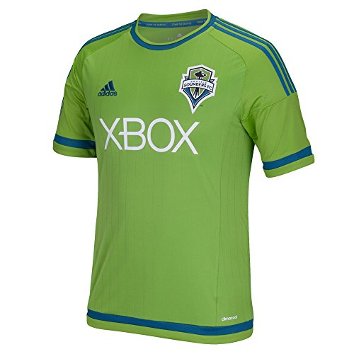 adidas Seattle Sounders Home Soccer Jersey 2015 Youth. (YS)