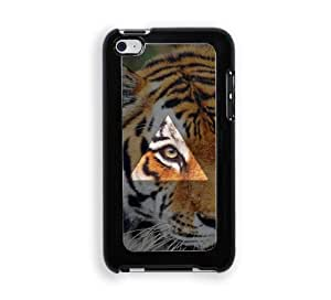 Hipster Tiger Eye Triangle iPod Touch 4 Case - Fits ipod 4/4G