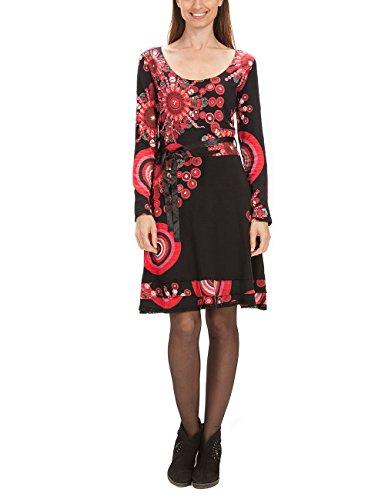 VEST Desigual Damen SAANNE 2000 Negro Schwarz Kleid RRvr8qwxE
