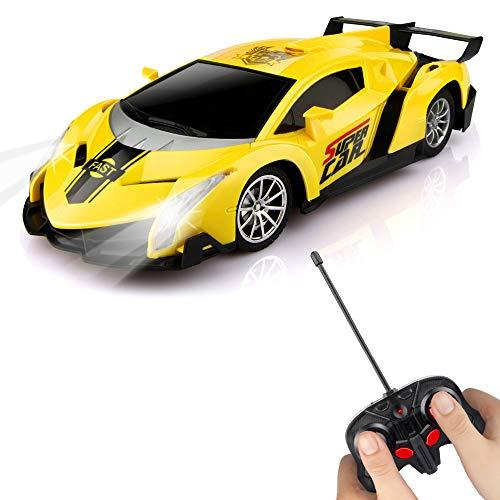 Baztoy Ferngesteuertes Auto, Kinder Spielzeug 1/24 Modell Auto RC Race Car...