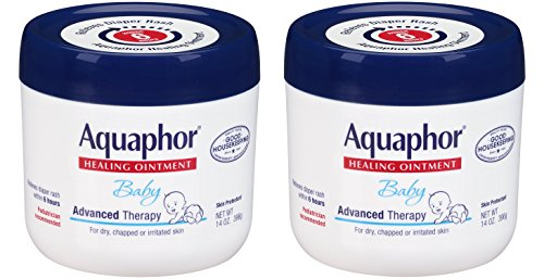 Price comparison product image Aquaphor yHetfh Baby Healing Ointment Advanced Therapy Skin Protectant, 14 Ounce (2 Pack)