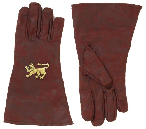 Forum Novelties Party Supplies Unisex-Adults Medieval Gloves, Brown, Standard, Multi, Multicolor ()