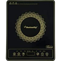 Butterfly Turbo Touch 1800-Watt Induction Cooktop
