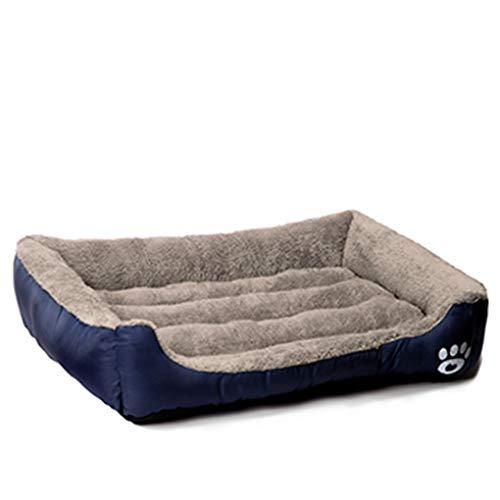 Krastal Pet Dog Bed Warming Dog House Soft Material Nest Dog Baskets Fall Winter Warm Kennel Cat Puppy ()