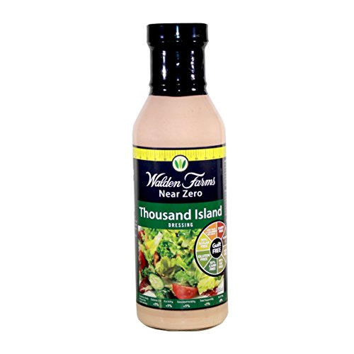 - Walden Farms Sugar Free Thousand Island Dressing, 12 Ounce - 6 per case.
