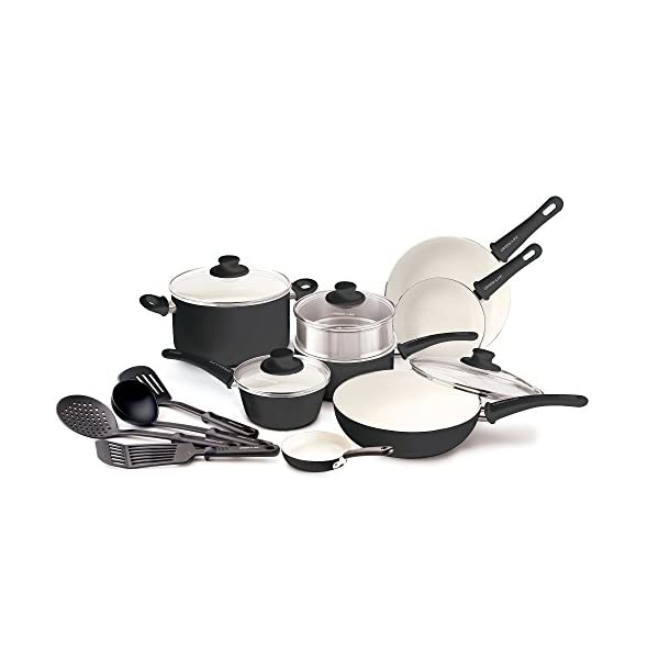 GreenLife Soft Grip Ceramic Non-Stick Cookware Set 41pjRtSMLYL