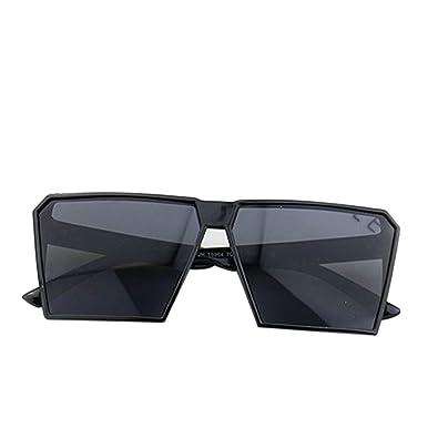 Gafas de sol retro marco grande cuadrado retro Gafas Hombres Niños Mujeres Niñas Gafas Streetwear UV400