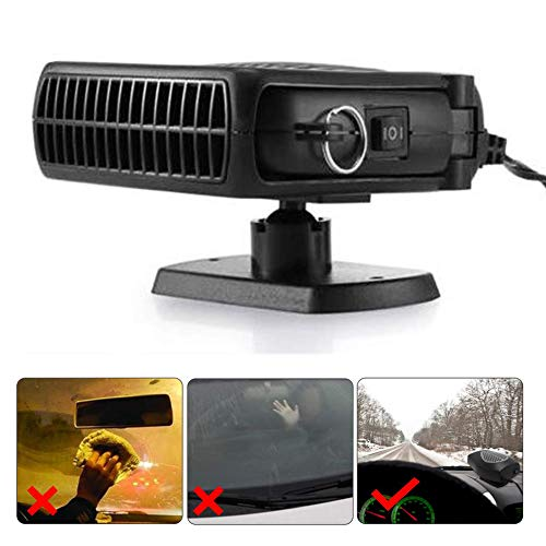 SLONG Car Heater Car Heater 12V24V Car Electric Heater Heater Heater Heating And Cooling Integrated Wind Defrosting Snow Defogger,12V: Kitchen & Home