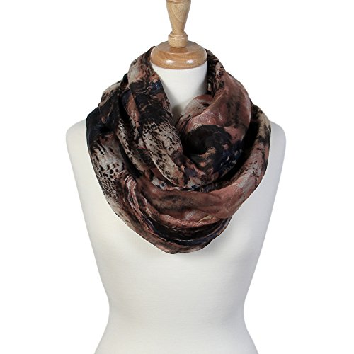 Scarfands Spring Fashion Mixed Color Oil Paint Versatile Infinity Scarf Head Wrap