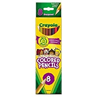 Crayola Multicultural Eight-Color Pencil Pack