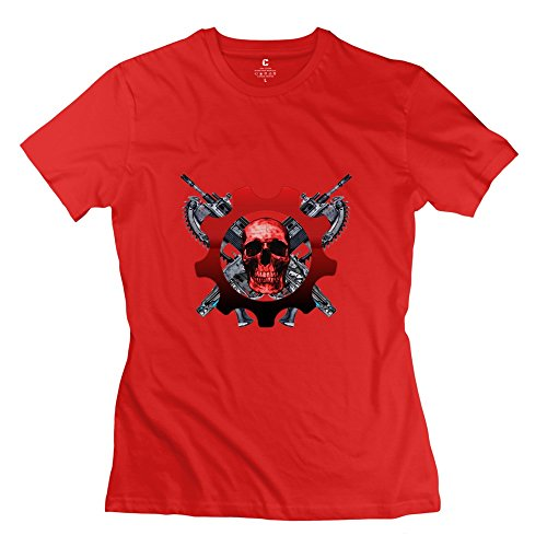 my-gears-of-war-logo-funny-short-sleeve-red-shirts-for-women-size-xxl