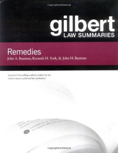 Gilbert Law Summaries: Remedies