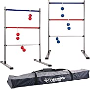 Triumph Press Fit Ladderball Set - Includes 6 Soft Bolas and Carry Case