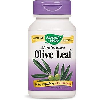 Nature S Way Olive Leaf  Oleuropein  Vcaps