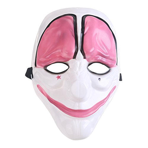 Payday 2 Chains Costume (Jojoshine Halloween mask Payday 2 Mask flag funny mask)
