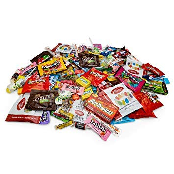 Your Favorite Mix of Premium Candy! 5 Pounds Of Gummy Bears, Skittles, M&M's, Blow Pop's, Tootsie Rolls, Mike & Ike's, Bulk Box By Snackadilly