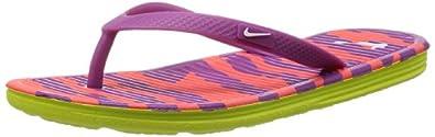 .com | Nike Women Solarsoft Thong 2 II Print Flip Flop | Slippers