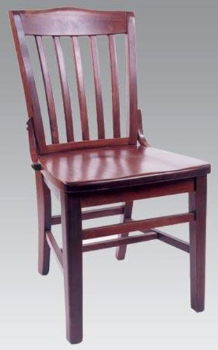 Alston Schoolhouse Dining Chair Solid Beech Wood-Set of 2, Honey Oak 43486-OG-142672-O-758315, Brown