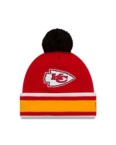 NFL Kansas City Chiefs Team Relation Knit Beanie, One Size, Red