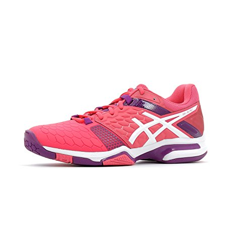 Asics Blast Handball white Women's Gel pink Shoes American 7 purple qZWvqOr