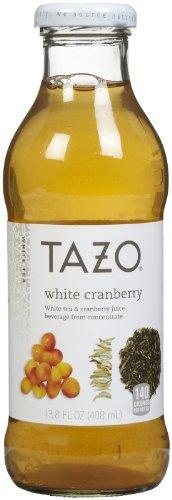 (Tazo White Cranberry Iced Tea, 13.8 oz, 12ct)