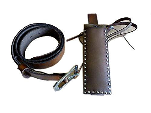 Sweeney Todd Leather Belt Holster Costume (M)