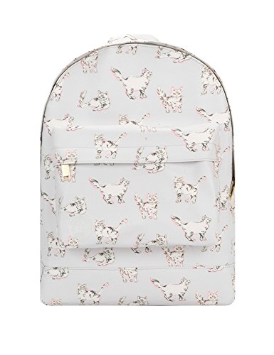 Mi-Pac Women's Cats Backpack In Grey Grey by Mi-Pac