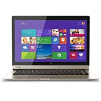Toshiba P35W-B3226 Click 2 Pro 13.3 FHD Touch 2-In-1 Ultrabook Laptop Intel i7-4510U 8GB Memory 128GB Solid State Drive Satin Gold