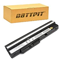 Battpit™ Laptop / Notebook Battery Replacement for MSI Wind U100 Plus (4400 mAh) (Ship From Canada)