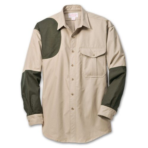 Filson 12030 Cover Cloth Shooting Shirt - Right Handed (XX-Large, Desert Tan/...