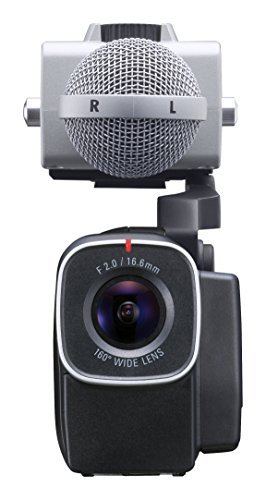 Zoom Q8 HD Video, 4‑Track Audio Recorder & MSH-6 Mid-Side Microphone Capsule - Bundle