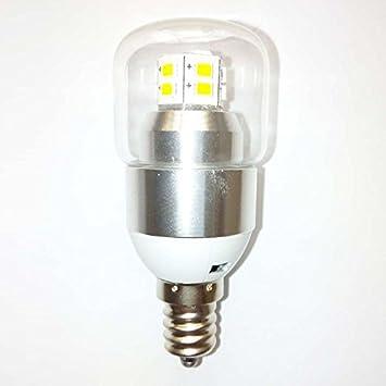 Caliente amarillo LED bombilla Bombilla led luz blanco cálido 360 grados luz ahorro de energía energía durable respetuoso LED E12 3W blanco cálido,3W LED ...