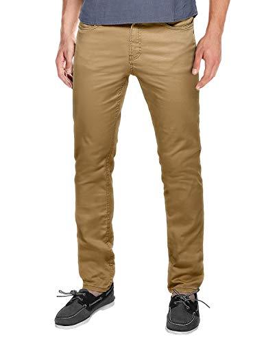 Match Men's Regular Fit Straight Leg Casual Pants(38, 8135 Khaki)