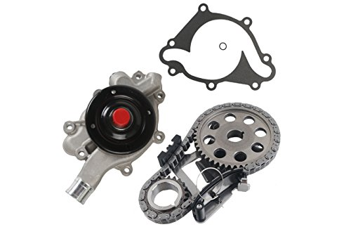 MOCA Timing Chain Kit Water Pump for 1992-2003 Dodge Dakota, 1998-1999 Dodge Durango, 1994-2001 Dodge Ram 1500 3.9L 12V Vin X