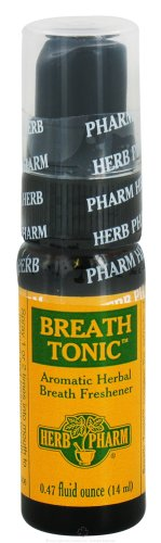 HERB PHARM BREATH TONIC, .50 FZ, Pack of 6