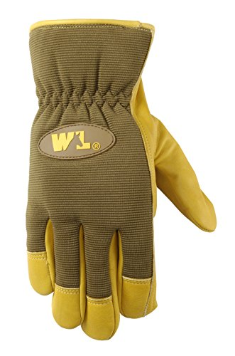 Wells Lamont Leather Palm Work Gloves, Cowhide, Ultra Comfort, Extra Large (1106XL)