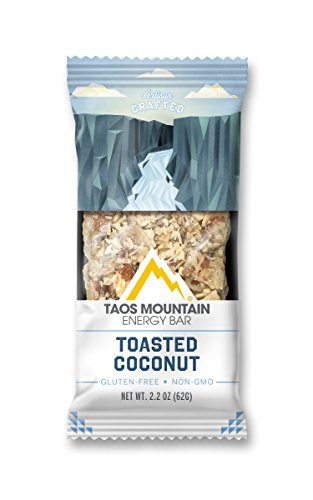 Taos Mountain Energy Bar – Toasted Coconut (2.2 Ounce, 6 Count)