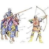 Italeri - I6027 - Maquette - Figurine - Chevaliers et Archers Anglais - Echelle 1:72