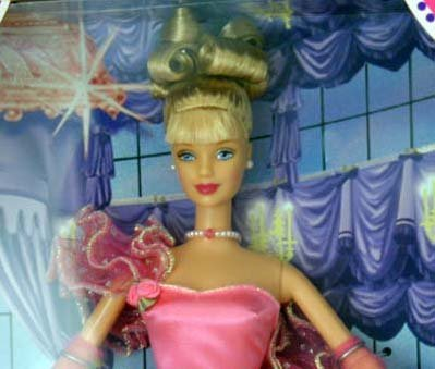 Toys R Us Pink Inspiration Blonde Barbie Doll by Mattel