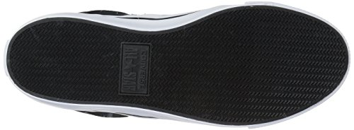 Unisex charcoal Sneaker Hi Converse Can Weiß Schwarz 1J793 Erwachsene AS xZfXq74