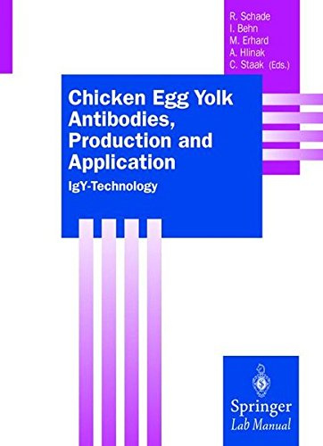Chicken Egg Yolk Antibodies, Production and Application: IgY-Technology (Springer Lab Manuals) (History Of Animal Testing For Medical Research)