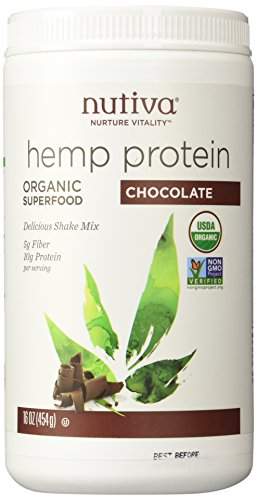 Nutiva Hemp Shake - Chocolate - 16 OZ