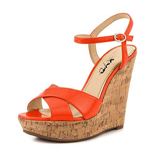 Mujeres Zapatos Pie De Corcho Tacón Correa La Del Cuñas Pío Alto Xyd Y7gfIbvy6