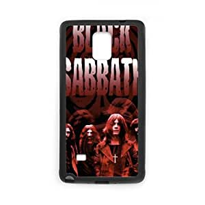 Black Sabbath Samsung Galaxy Note 4 Cell Phone Case Black Customized Toy pxf005_9722852