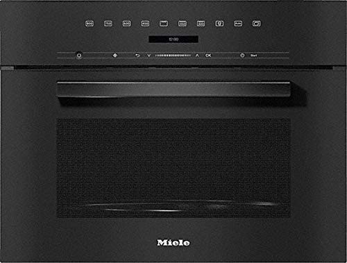 Miele 7244 OBSW - Horno microondas empotrable (60 cm), color negro ...