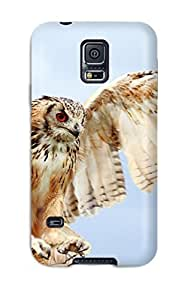 Excellent Design Owl On Landing Case Cover For Galaxy S5 wangjiang maoyi